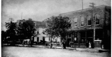Coalfield Hotel & Store, west side of the 600 and 700 blocks of South Broadway.