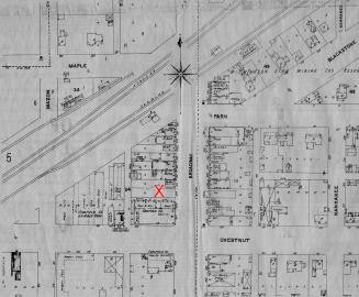 This is a city map of Coal City in the early 1900's.