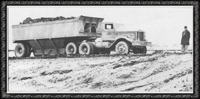 """Dart"" truck used to haul coal from the pit to the tipple"